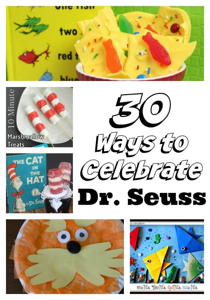 30 ways to celebrate Dr. Seuss