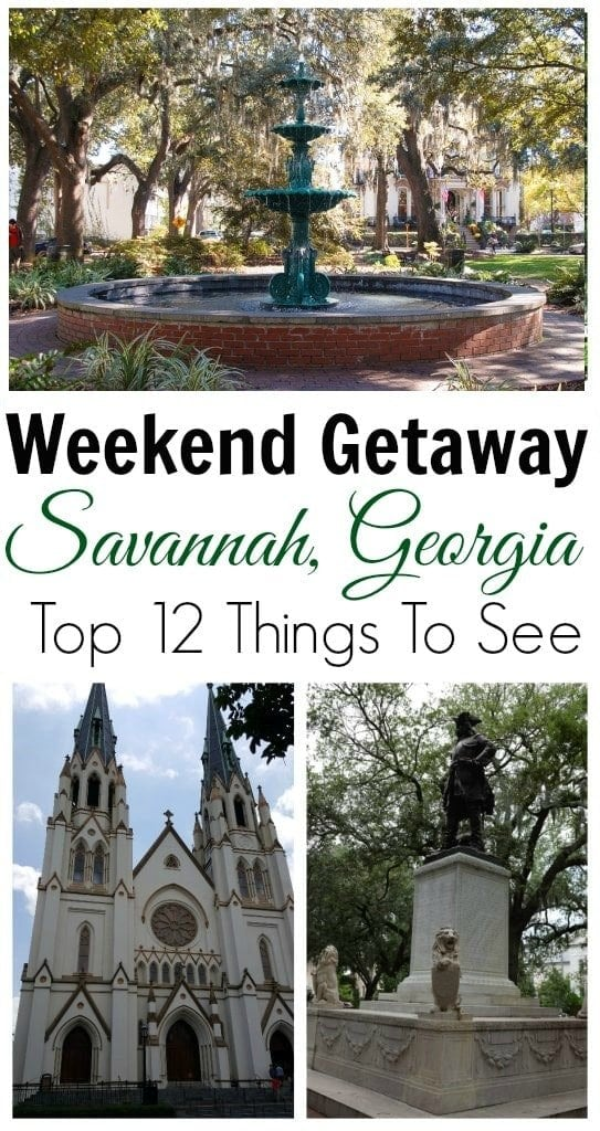 Things to do in Savannah for a weekend getaway