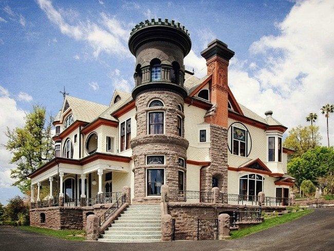Castle in California