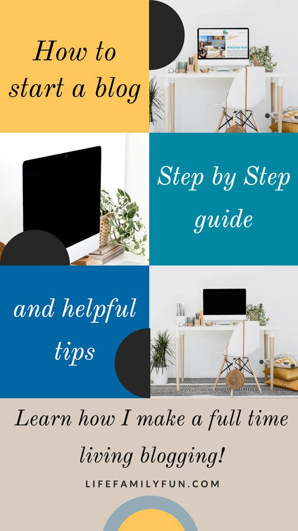 Starting a blog doesn't have to cost a whole lot of money. Learn how to start a blog using WordPress easily and earn income! Step by step WordPress instructions. Getting your blog started. #blogging #wordpress