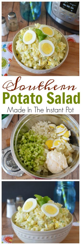 Easy Southern Potato Salad Made In The Instant Pot