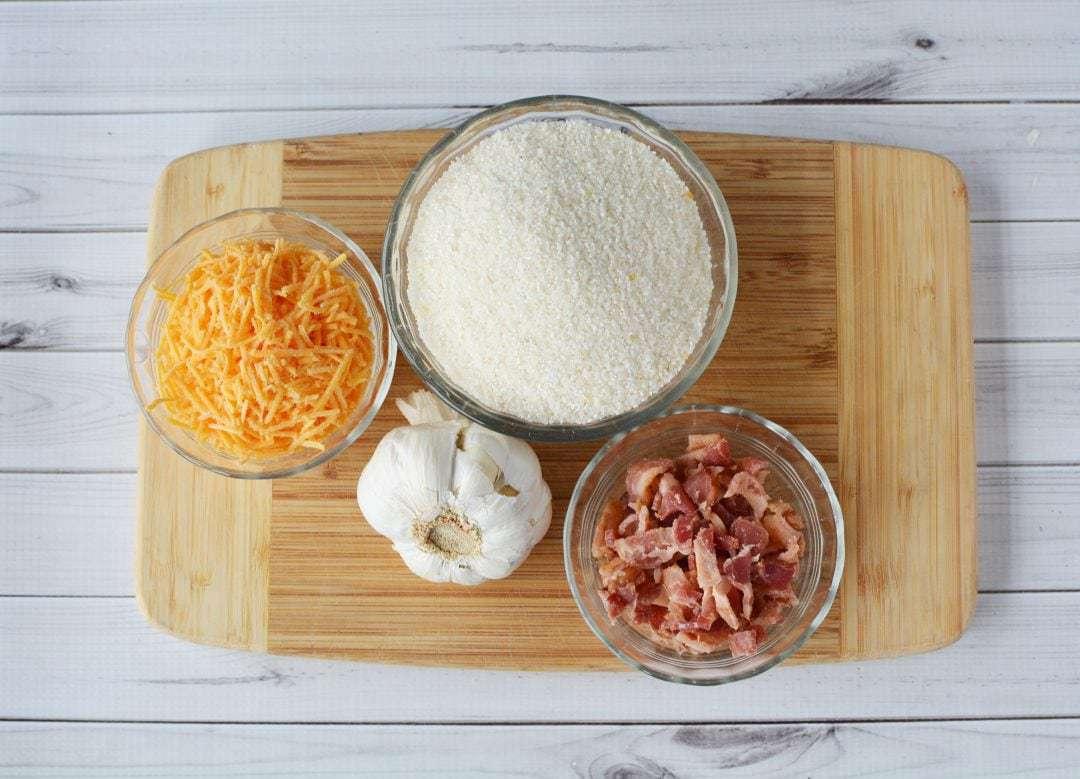 Bacon Garlic Cheddar Grits, Cheesy Grit Recipe, Grits Recipe, Souther Style Grits, Cheese Grits