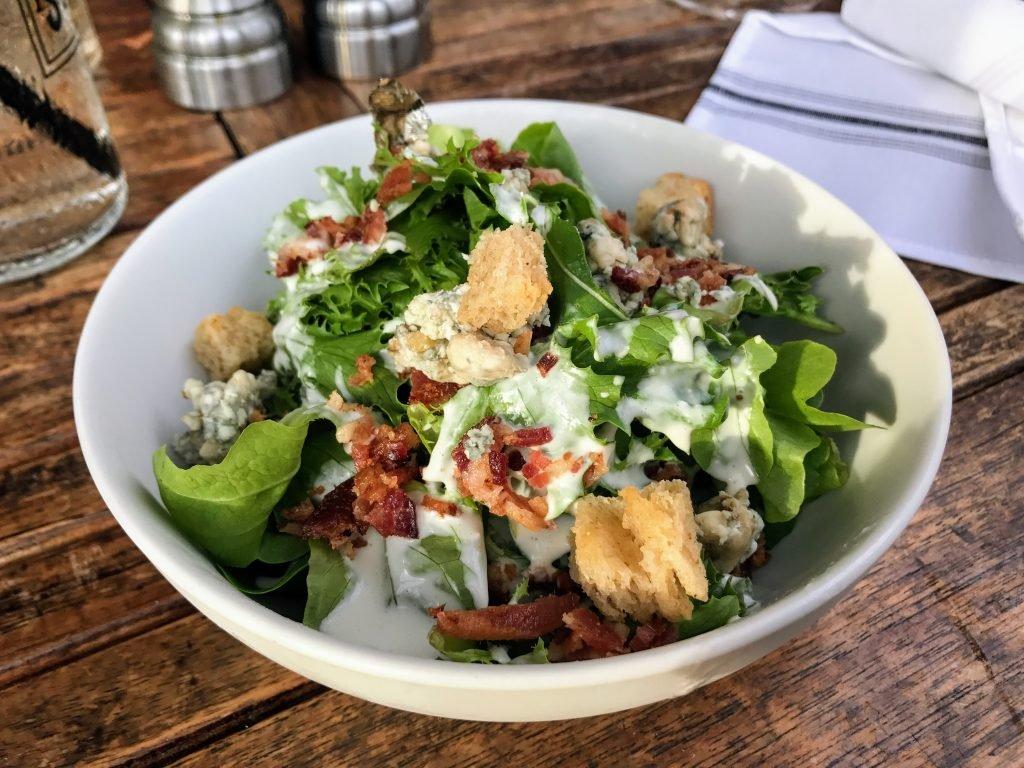 Bacon & Bleu Salad, South Main Kitchen Menu
