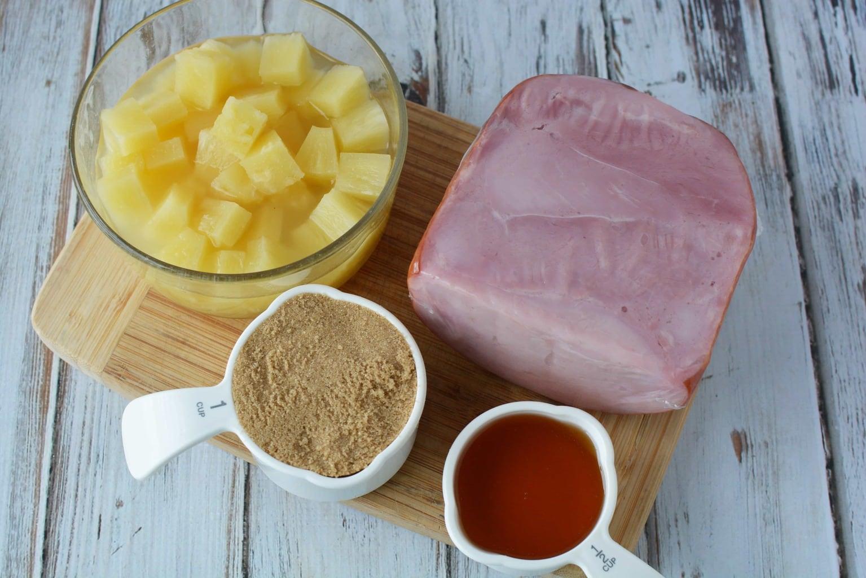 Ingredients for Instant Pot Boneless Ham: