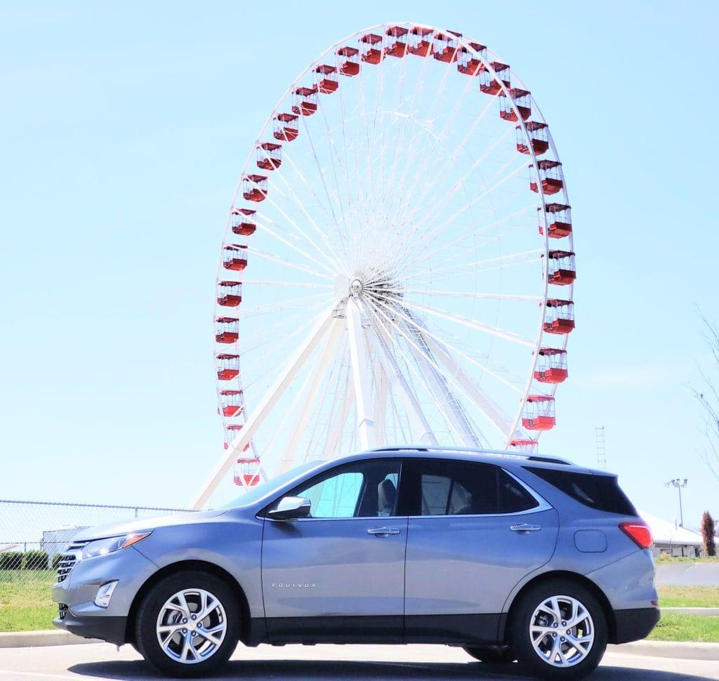 Chevrolet, equinox, Chevrolet equinox, chevy equinox, Chicago ferris wheel