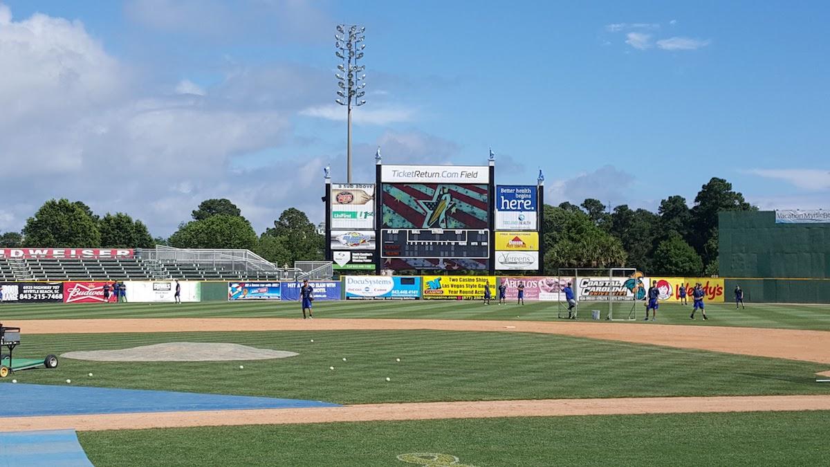 pelicans baseball field in myrtle beach