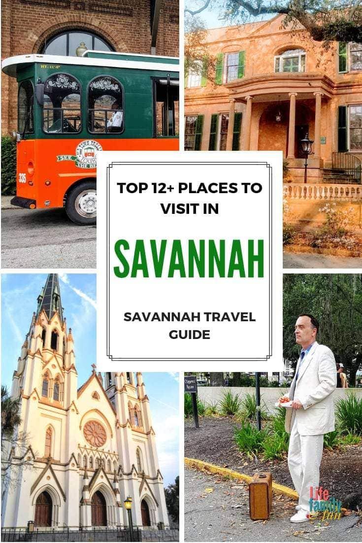 Top places to visit in savannah georgia