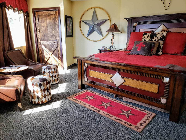 clay Cooper crib suite at stone castle hotel