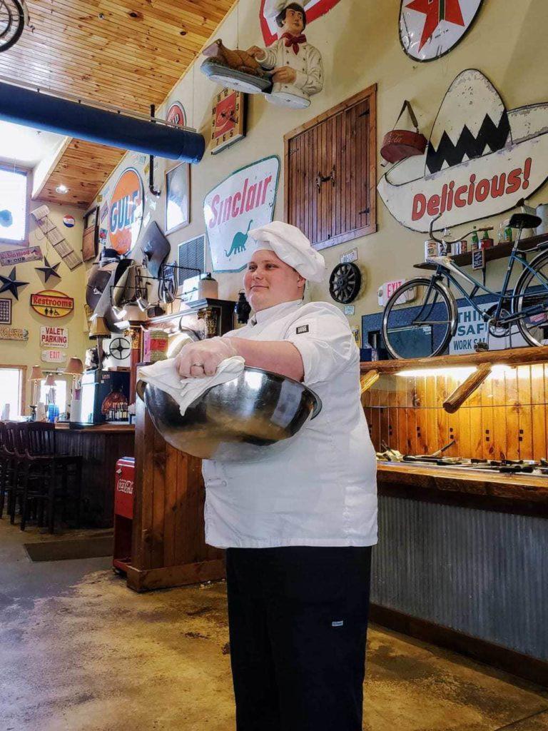 home of the tossed rolls, fall creak steak house, fall creak steak & catfish, restaurants in Branson