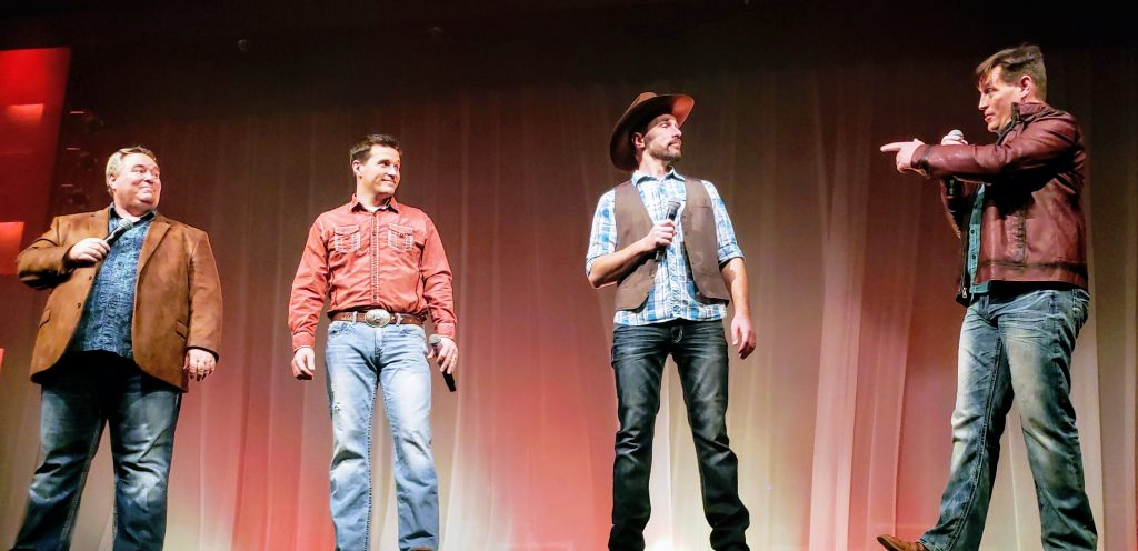 Hughes brothers music show, Hughes brothers Branson