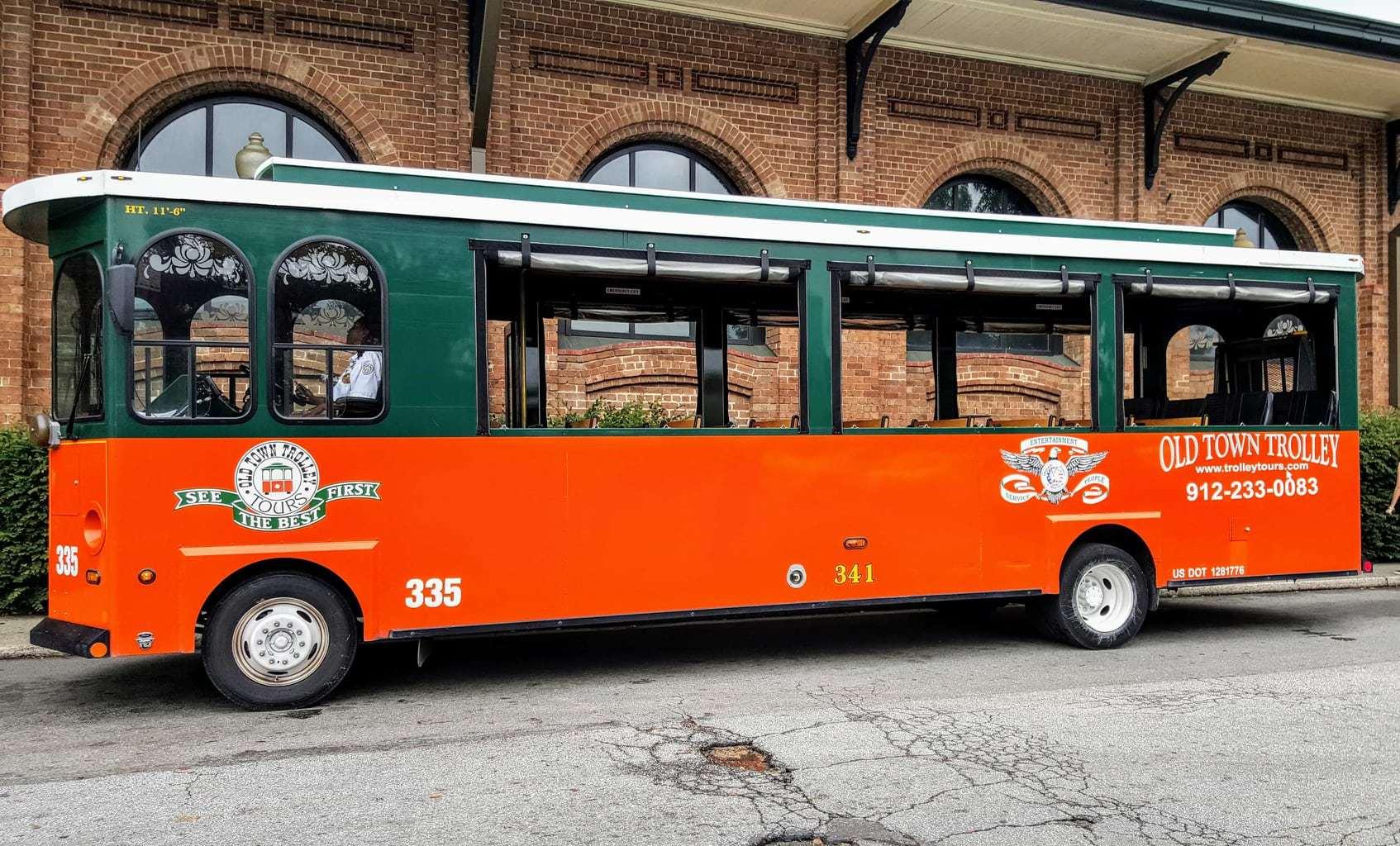 Old Town Trolley Savannah, Old Town Trolley, Things To Do in Savannah, Savannah Getaway