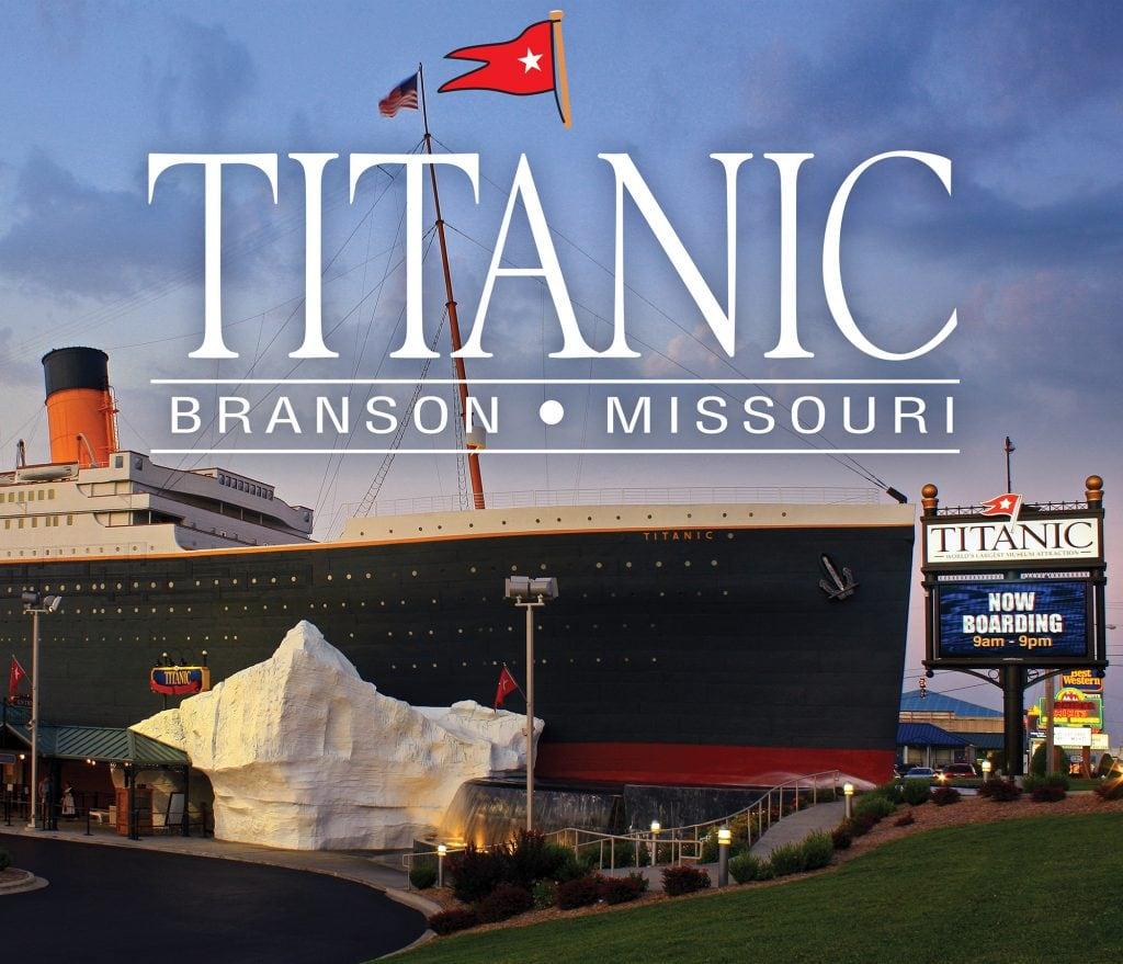 titanic museum, titanic museum in Branson