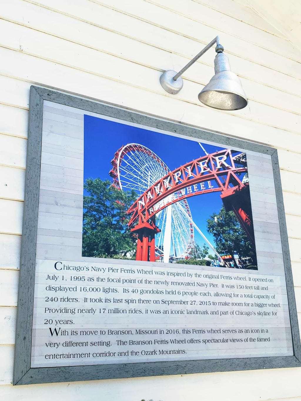 branson ferris wheel, Chicago's Navy Pier Ferris Wheel