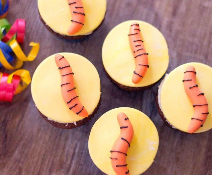 Tigger Tail Cupcakes
