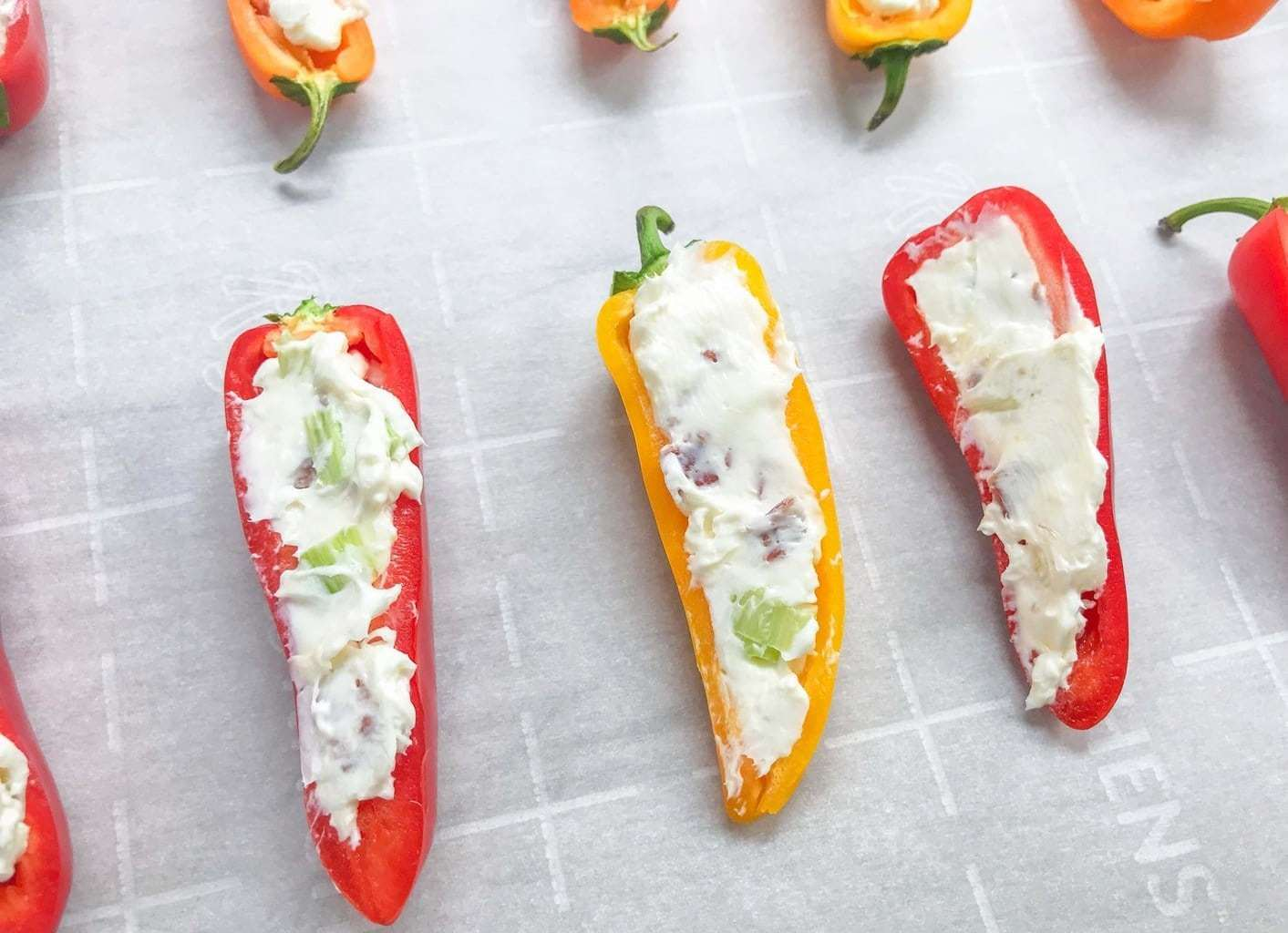 Cream Cheese Bacon Peppers
