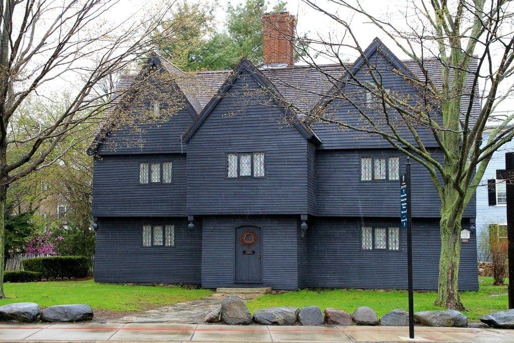MA Salem, The Witch House, Haunted Salem