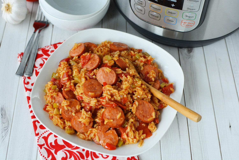 Instant Pot Jambalaya Recipe
