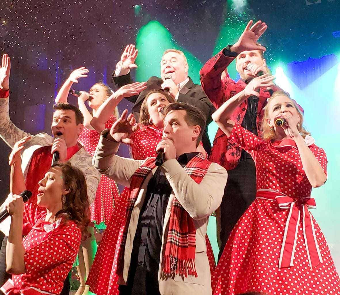 christmas in bfranson, hughes brothers christmas show