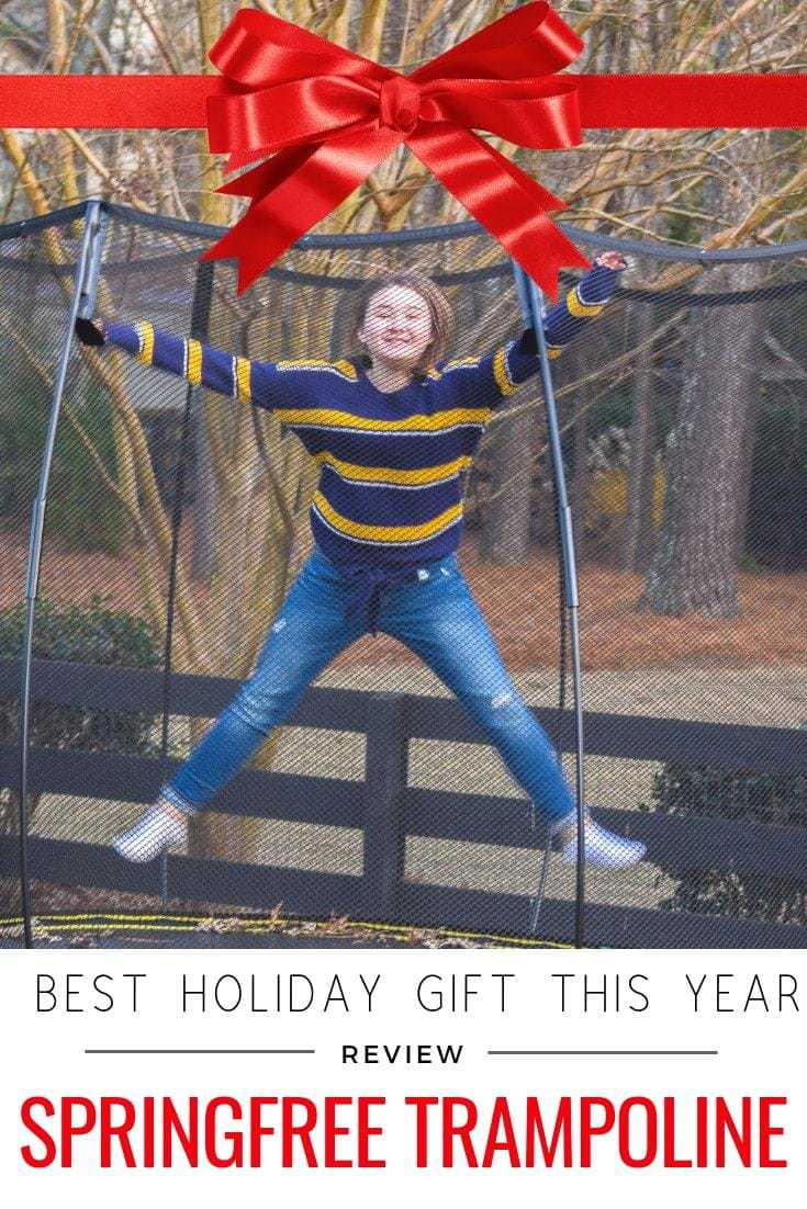 Springfree Trampoline - Best Holiday Gift This Year