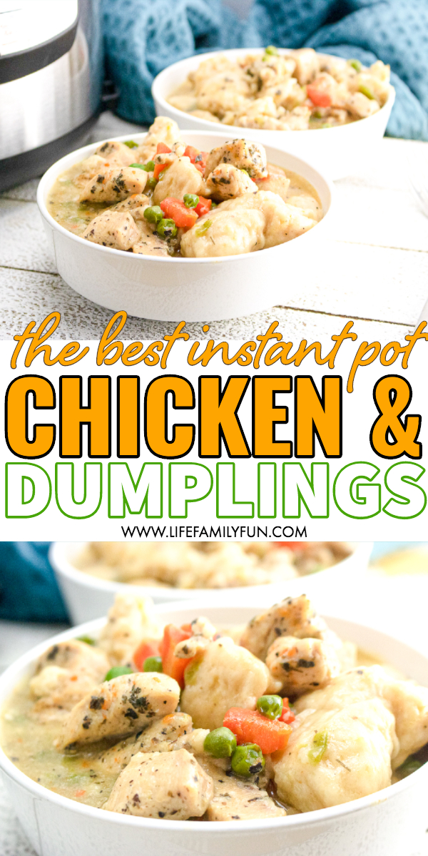instant pot chicken and dumplings, canned biscuits in instant pot