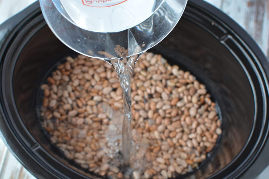 how long do you cook pinto beans in a crockpot?