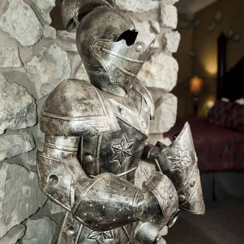 Medieval Hotel Themed Room