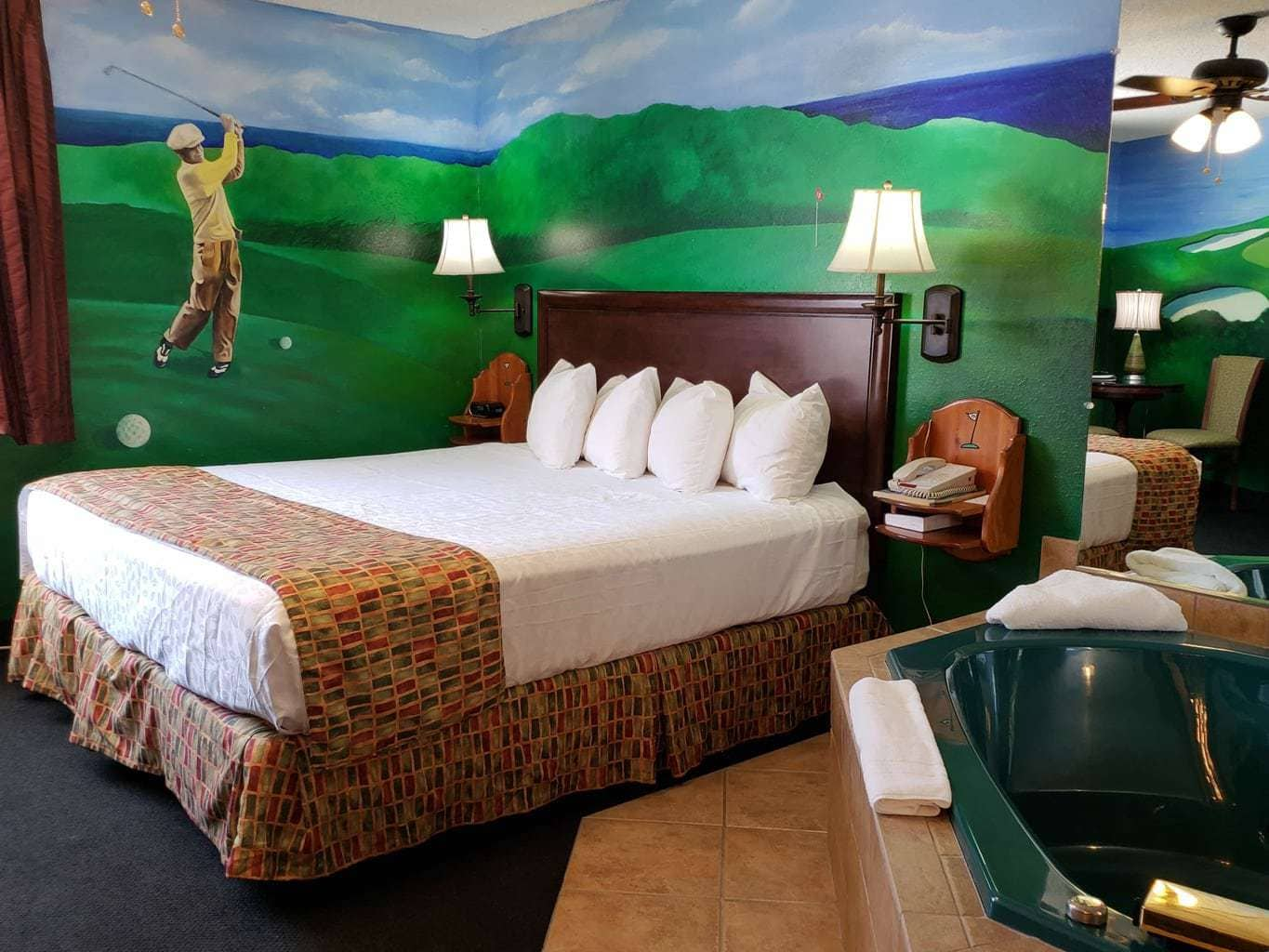 19th hold themed room at stone castle
