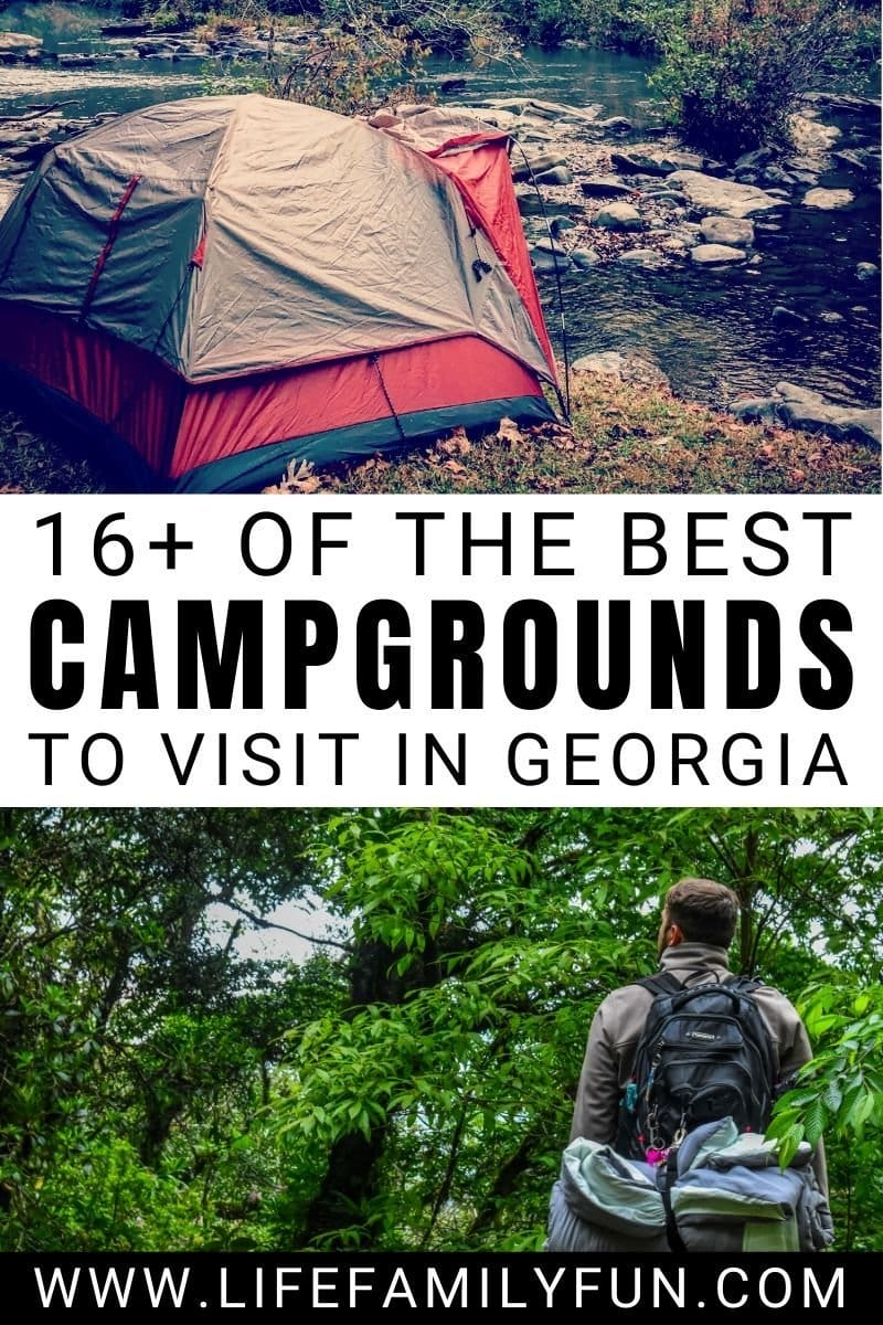 Best Campgrounds in Georgia