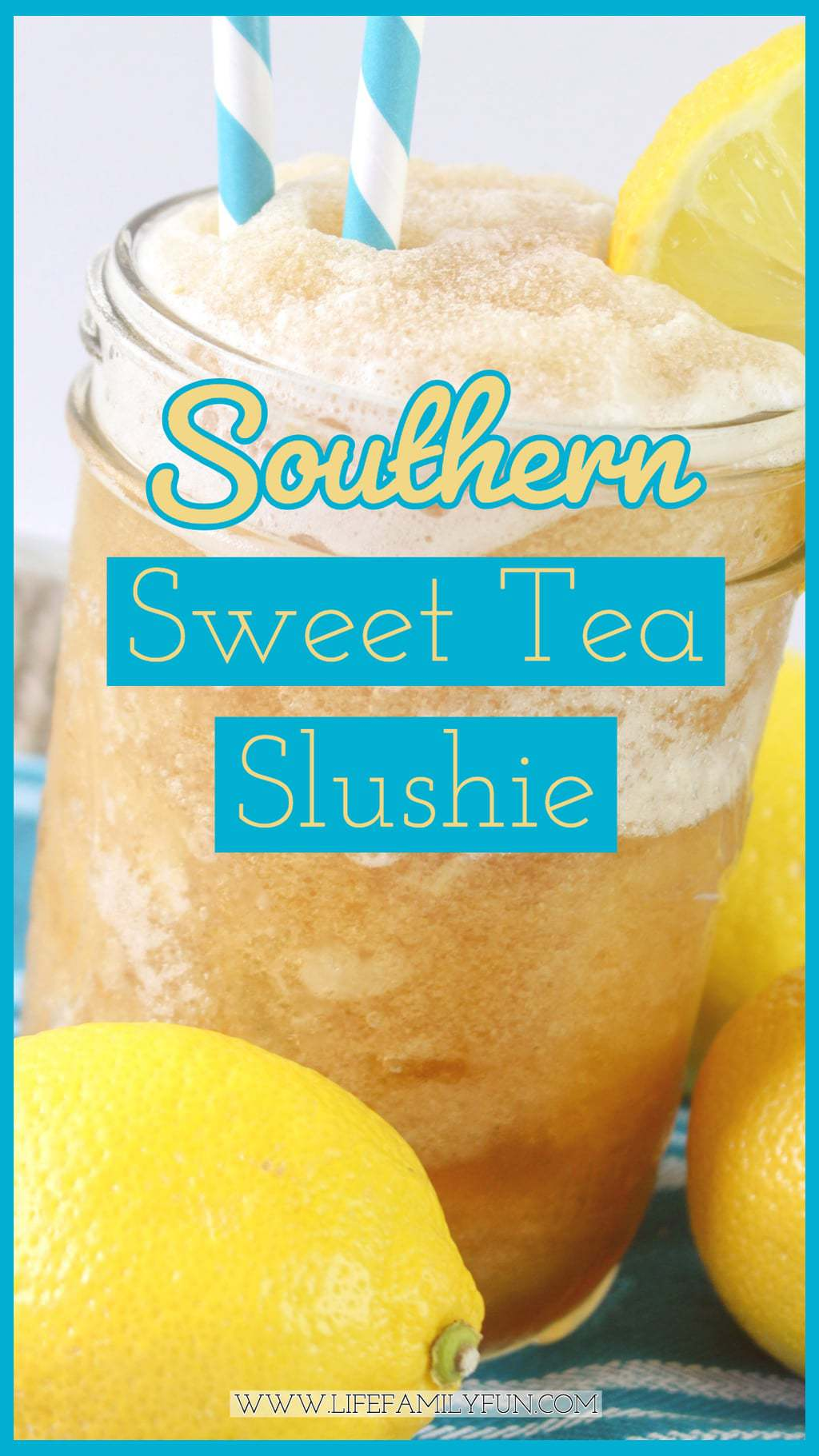 Enjoying a delicious Southern Sweet Tea Slushy is the perfect way to cool your taste buds, while still getting that southern flavor that you love.