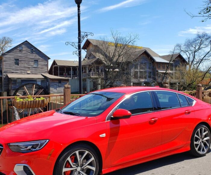 During our latest and greatest road trip to Pigeon Forge, TN we were able to do so in style. Riding in the 2019 GMC Regal GS made our road trip a breeze.
