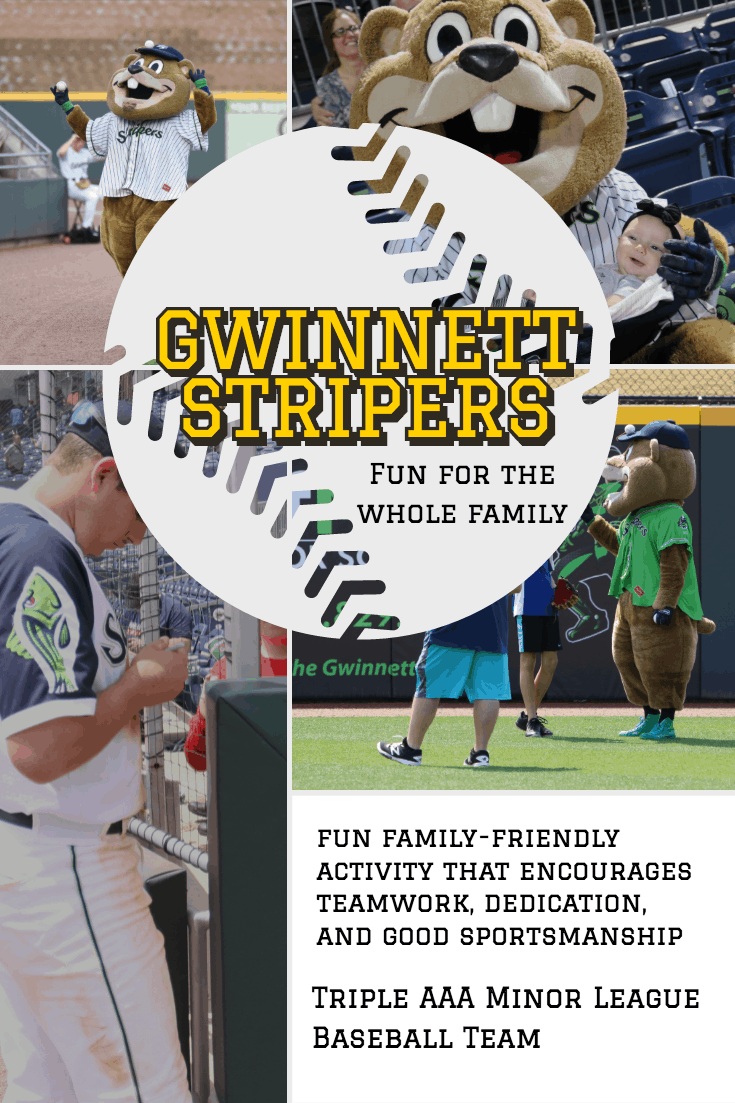 Looking for a fun family-friendly activity that encourages teamwork, dedication, and good sportsmanship? A night (or two) at the baseball diamond cheering on the Gwinnett Stripers Triple AAA Minor League Baseball Team is where you and your family need to be!