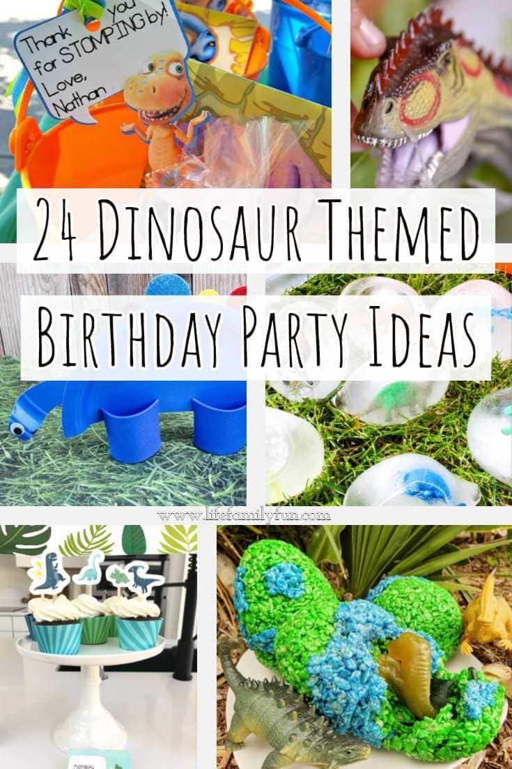 Dinosaur Themed Birthday Party Ideas