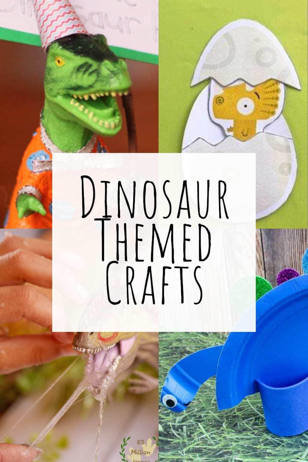 dinosaur themed crafts