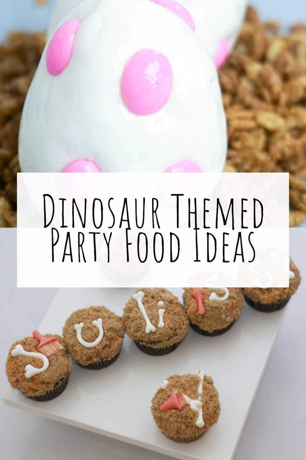 Dinosaur Themed Party Food Ideas