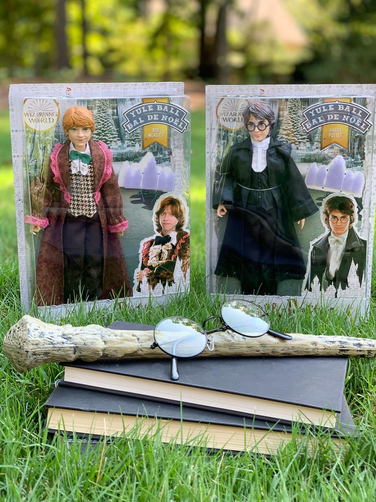 HARRY POTTER™ Yule Ball Dolls, Ron Weasley, Harry Potter