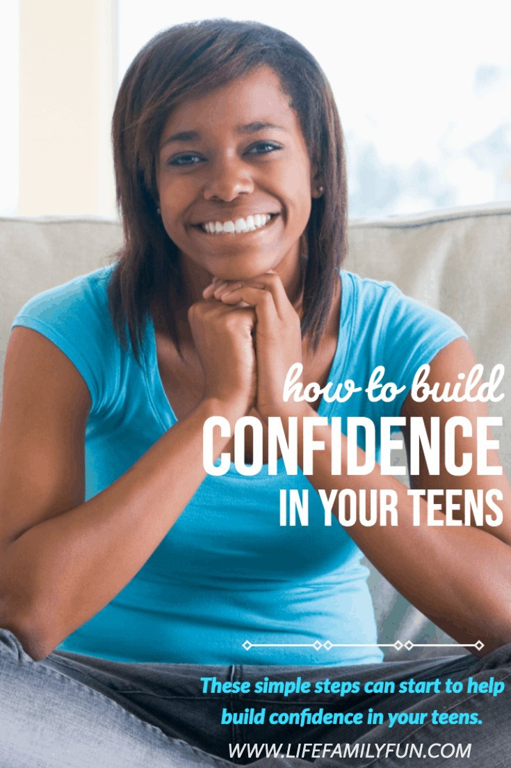 How ot build confidence in your teens