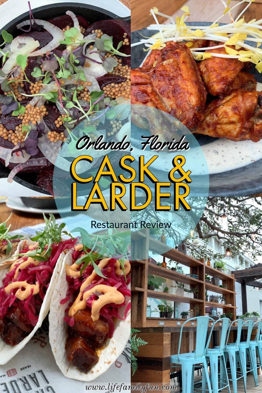 Cask & Larder Restaurant in Orlando International Airport