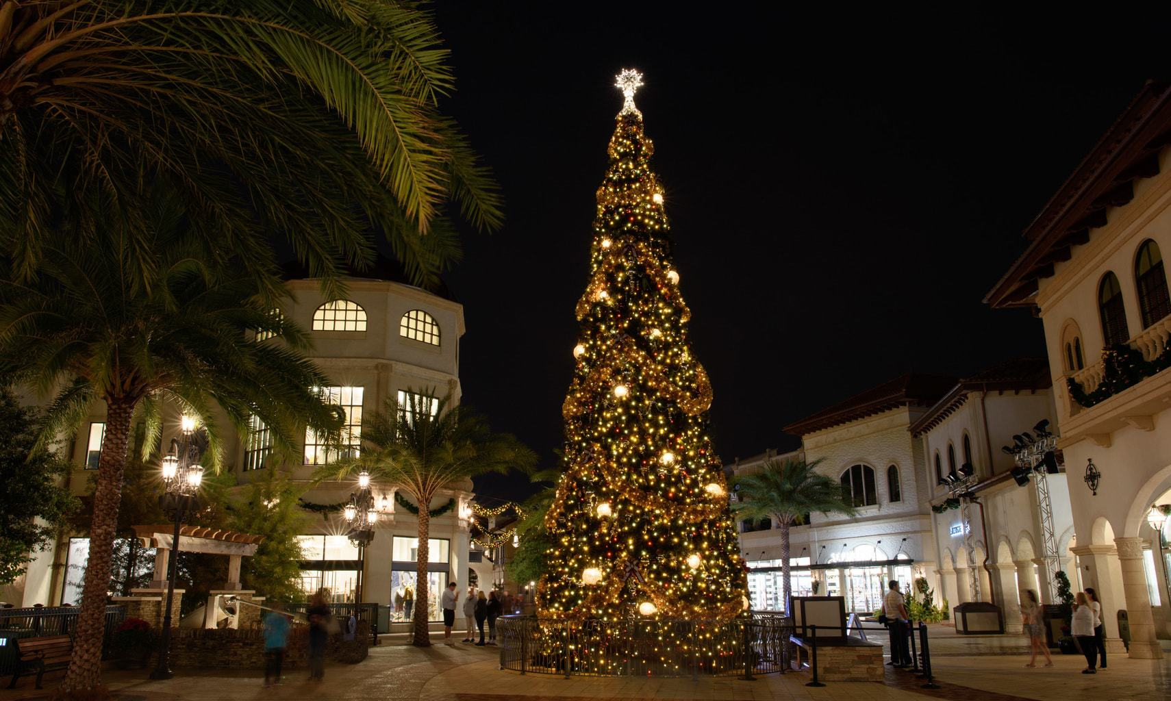 Disney Springs at Christmas