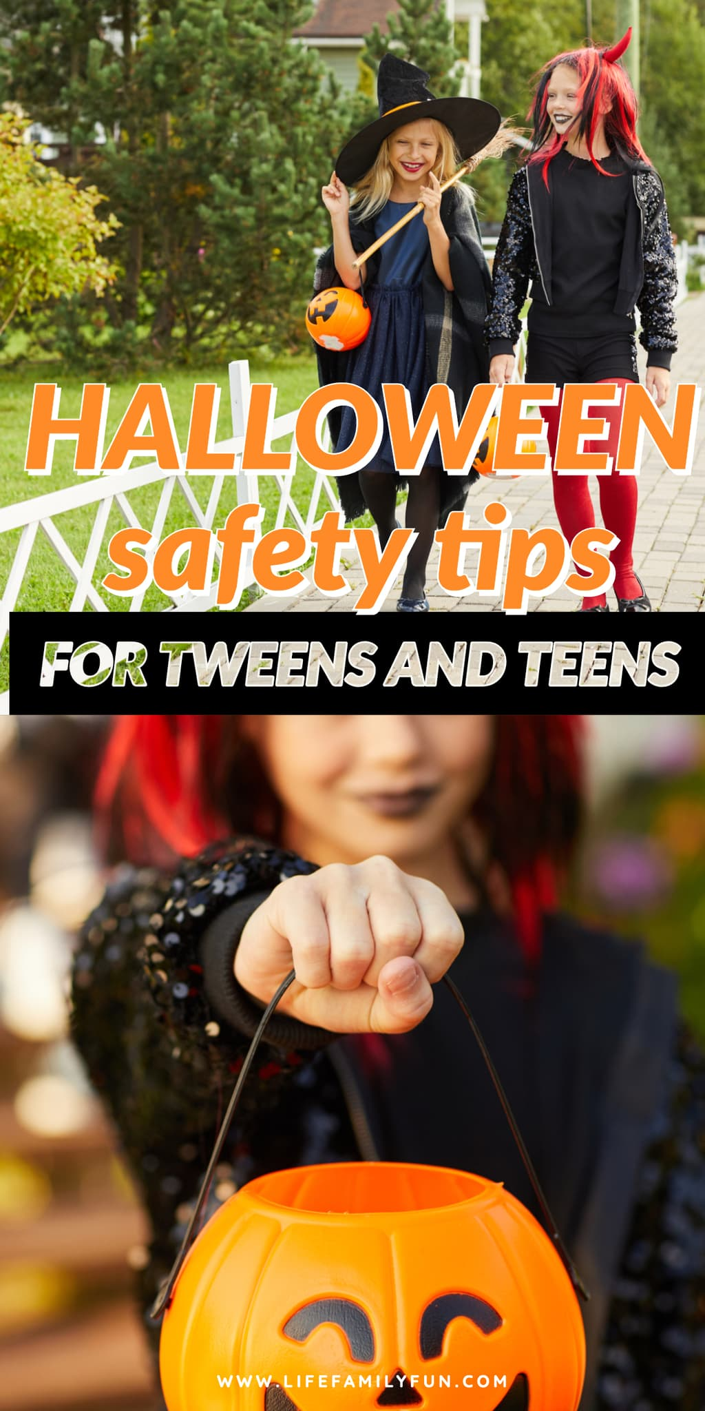 Halloween safety tips for tweens and teens