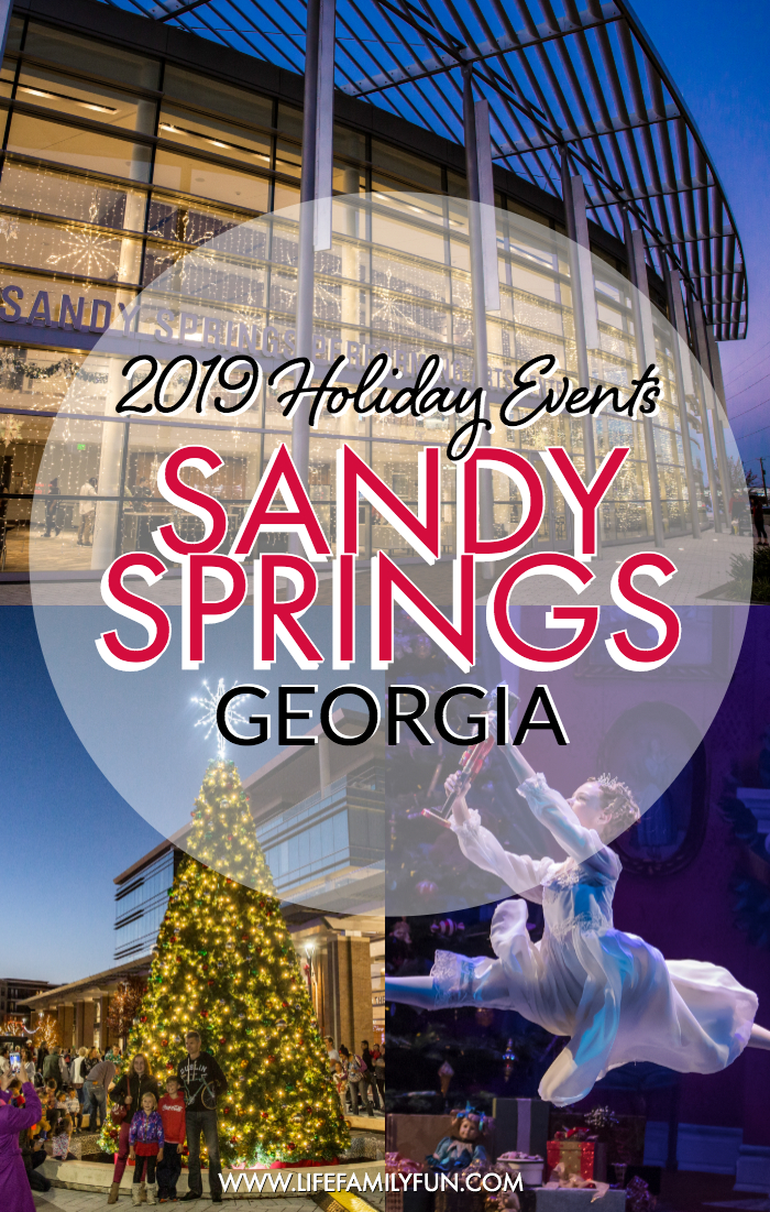 Sandy Springs Holiday Events for 2019