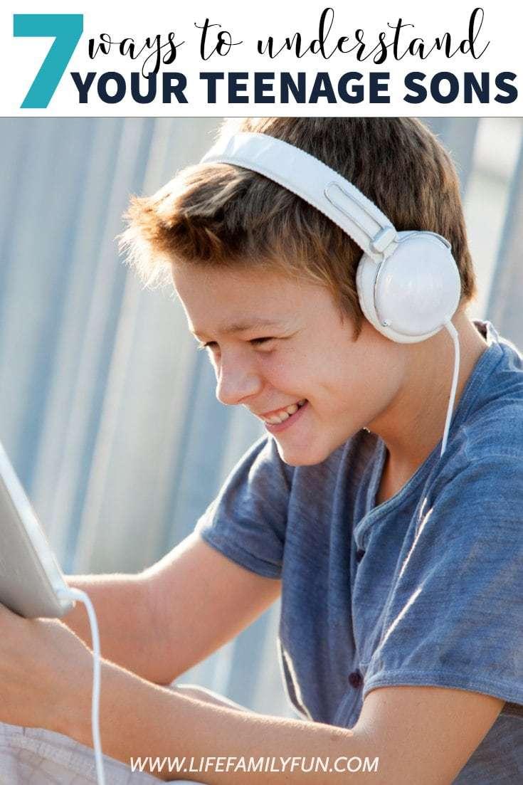 Understanding your teenage son