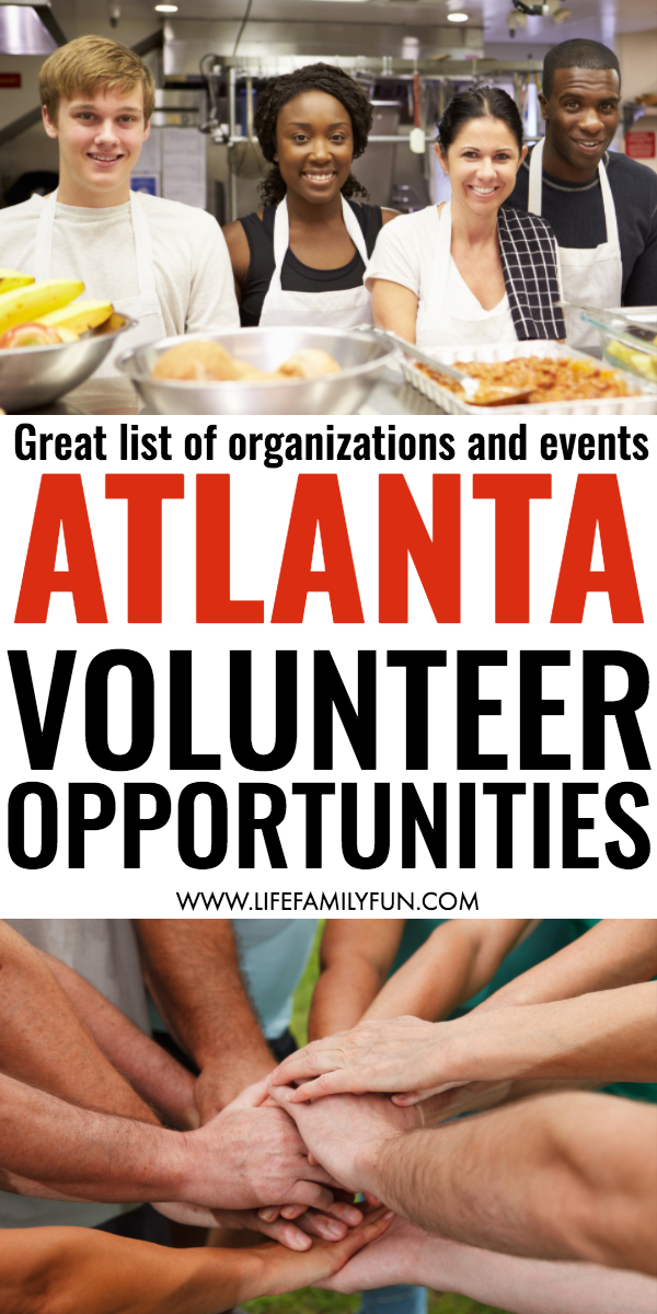 Volunteering in Atlanta | If you're looking for simple ways to volunteer in Atlanta for yourself or even for your family, you'll find a great list of organizations and events that will open their arms and welcome any and all help that you're able to give. #Volunteering
