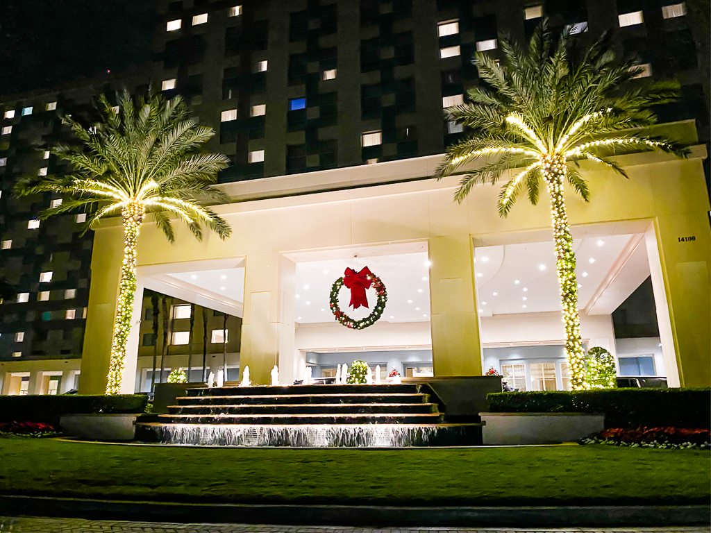 Christmas Decorations at Hilton Orlando Bonnet Creek