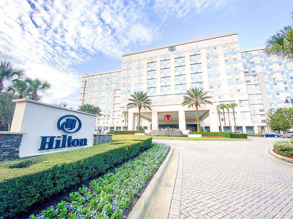 Front Entrance Hilton Orlando Bonnet Creek