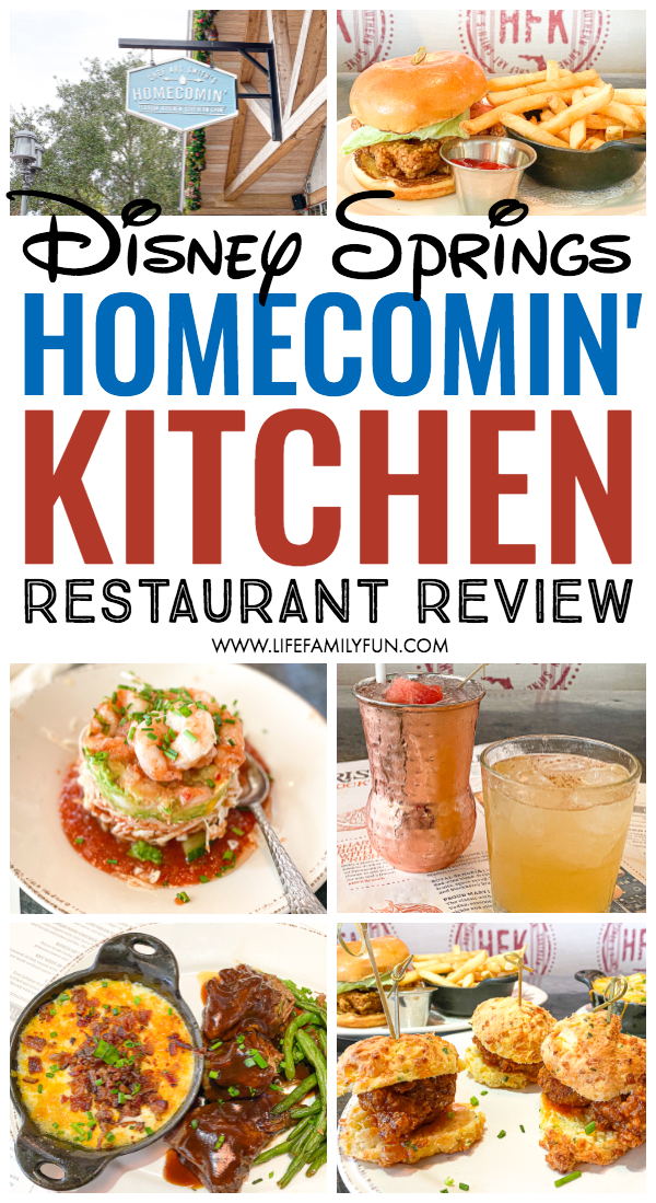 Homecomin' Kitchen Restaurant Review - Read our full review of Chef Art Smith's Homecomin' Kitchen. It's no doubt the new favorite restaurant in Disney Springs for both tourists and locals. #DisneySprings #ChefArtSmithsHomecominFl