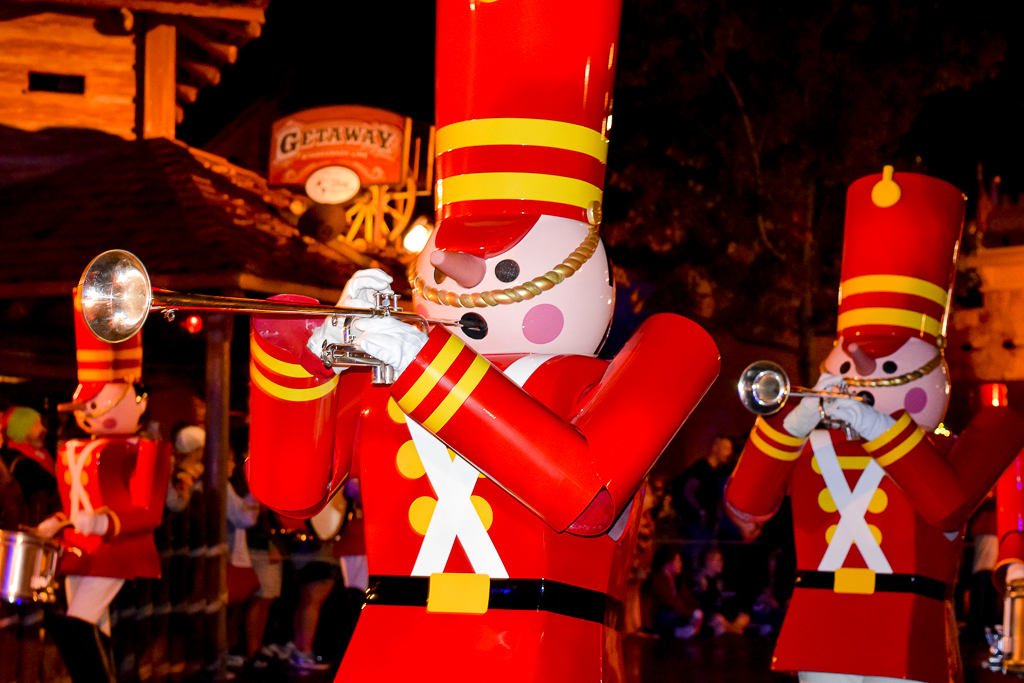 Once Upon a Christmastime Parade in Magic Kingdom, Toy Soldiers