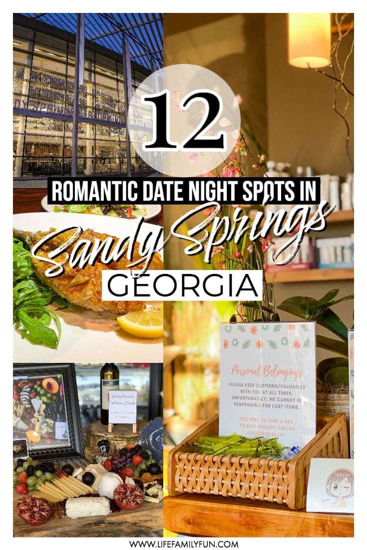 Top 12 Best Romantic Date Night Spots in Sandy Springs