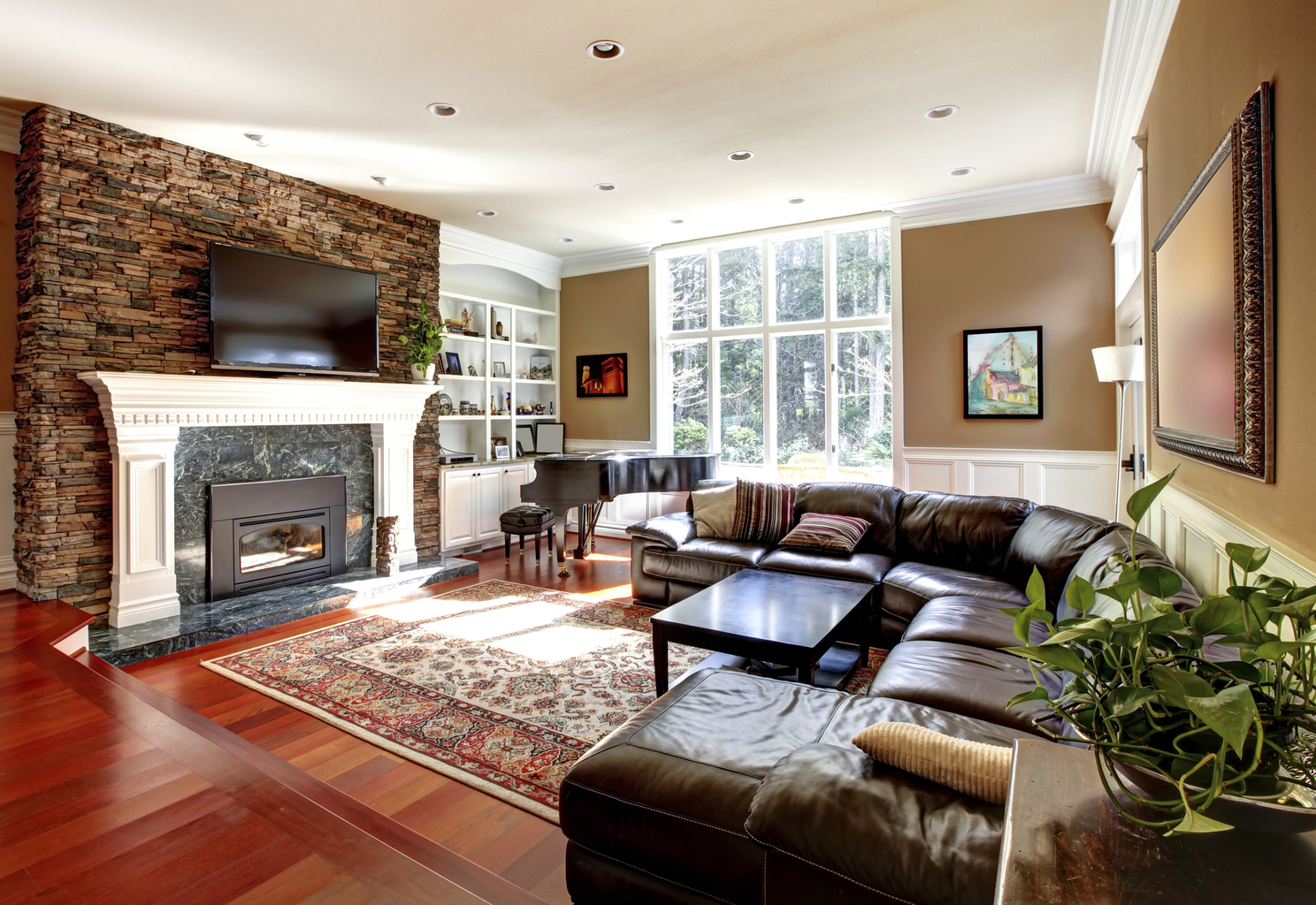 Living Room Decor, Home Decorating Tips