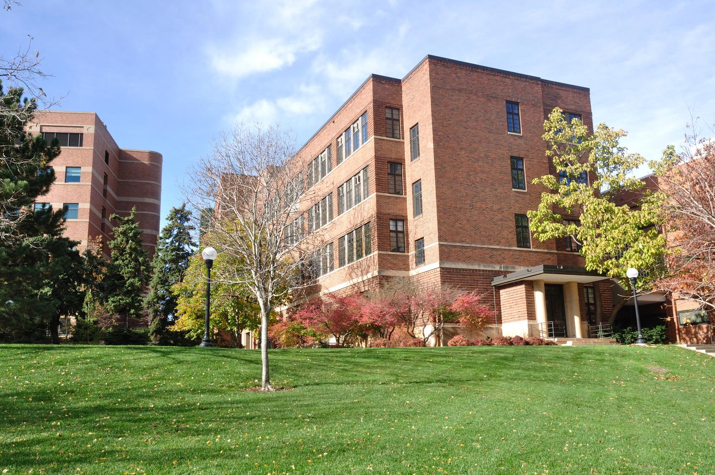 Brick Building on University of Minnesota St. Paul Campus