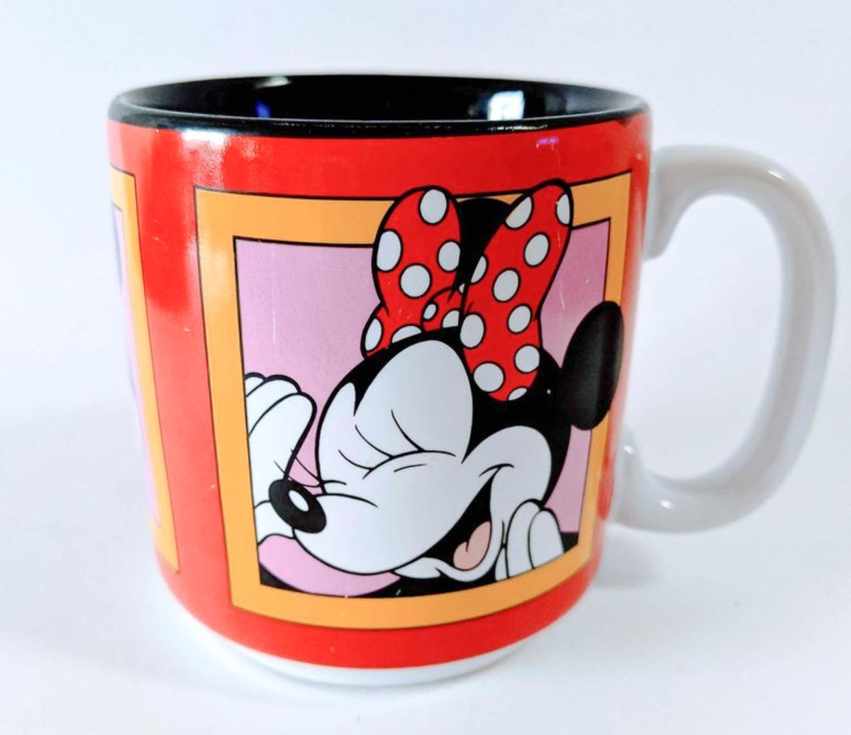 Disney World Souvenirs Coffee Mug with Minnie Mouse